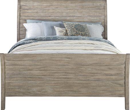 Nantucket Breeze Bisque 3 Pc King Sleigh Bed
