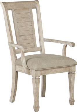 Nantucket Breeze Bisque Arm Chair