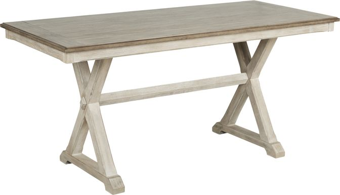 Nantucket Breeze Bisque Counter Height Dining Table