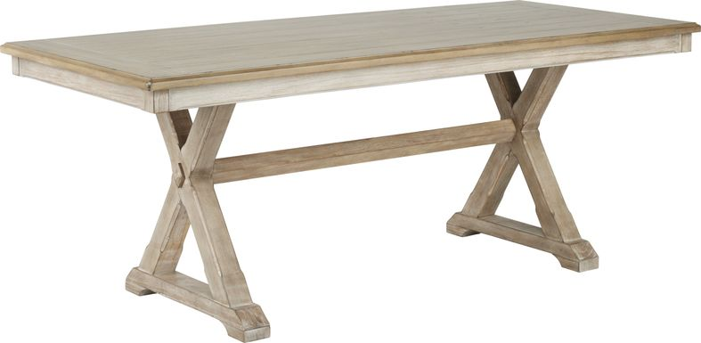 Nantucket Breeze Bisque Dining Table