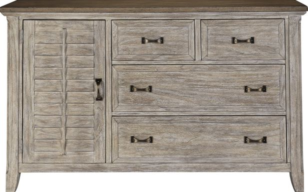 Nantucket Breeze Bisque Dresser