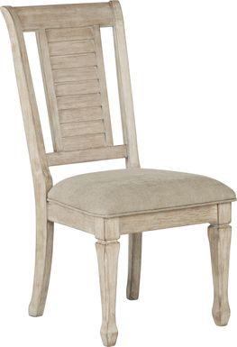 Nantucket Breeze Bisque Side Chair