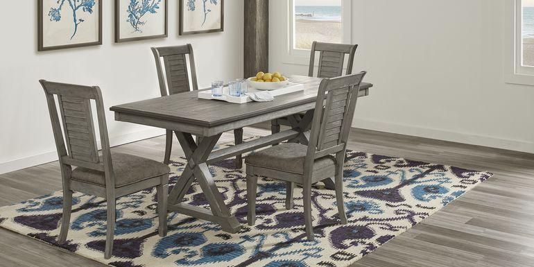 Nantucket Breeze Gray 5 Pc Dining Room