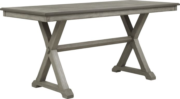 Nantucket Breeze Gray Counter Height Dining Table