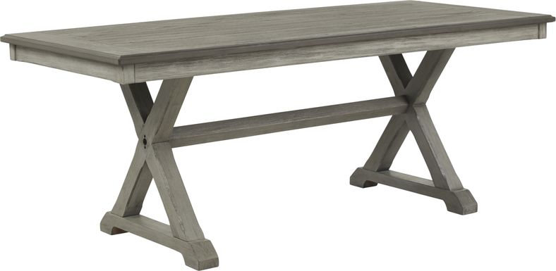 Nantucket Breeze Gray Dining Table