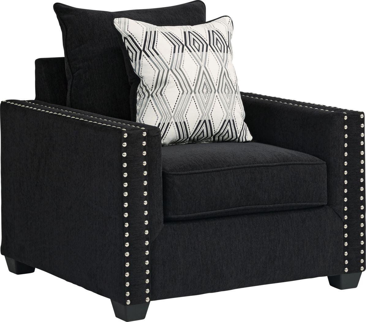 Natalia Black Chair