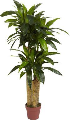 Natlee Green Dracaena Silk Plant