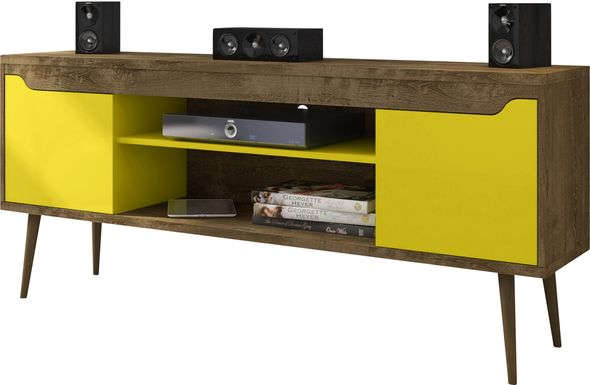 Navorro Brown 63 in. Console