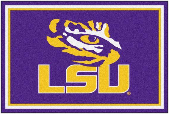 NCAA Big Game Louisiana State University 5' x 8' Rug