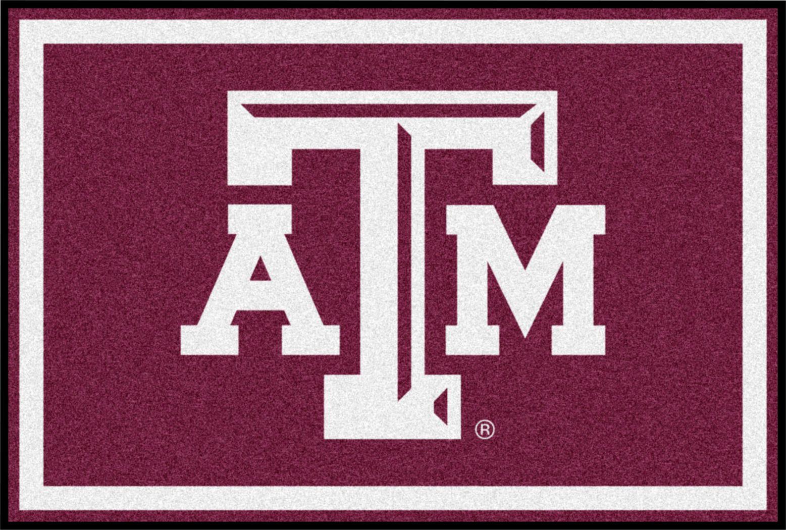NCAA Big Game Texas A&M University 5' x 8' Rug