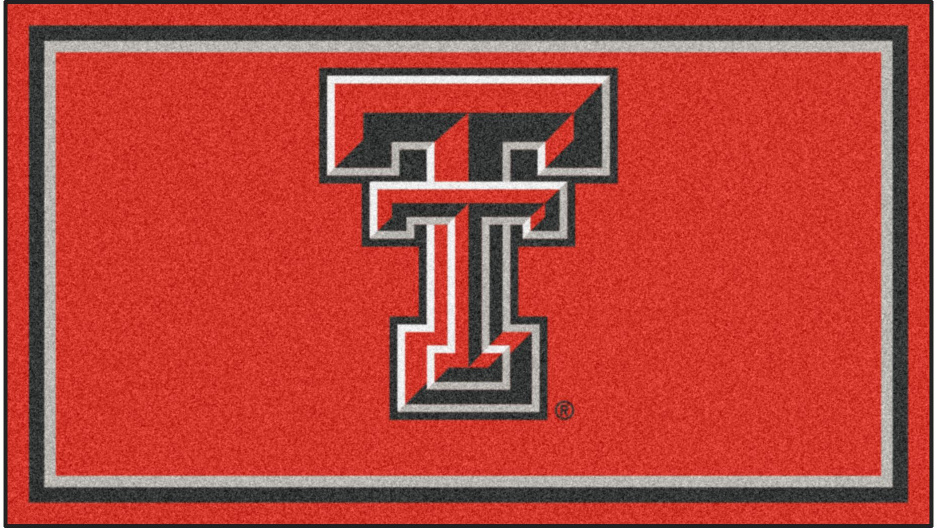 NCAA Big Game Texas Tech University 3' x 5' Rug