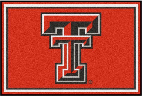 NCAA Big Game Texas Tech University 5' x 8' Rug