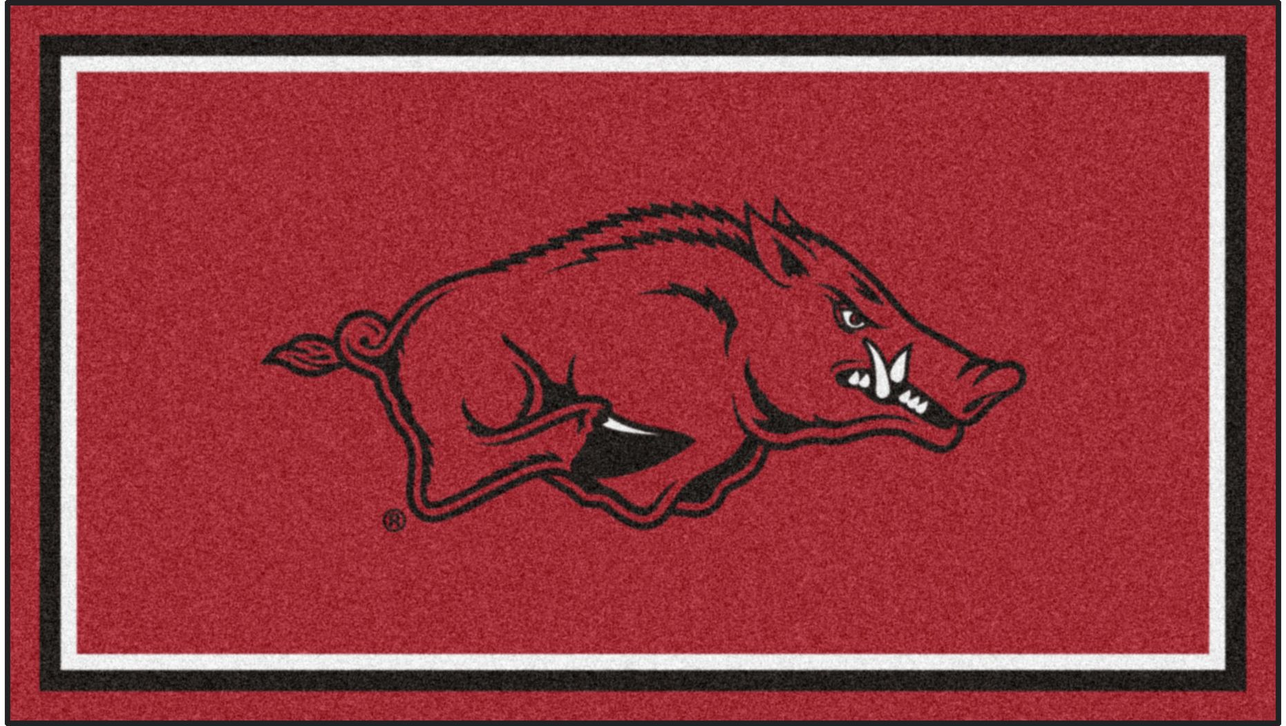 NCAA Big Game University of Arkansas 3' x 5' Rug