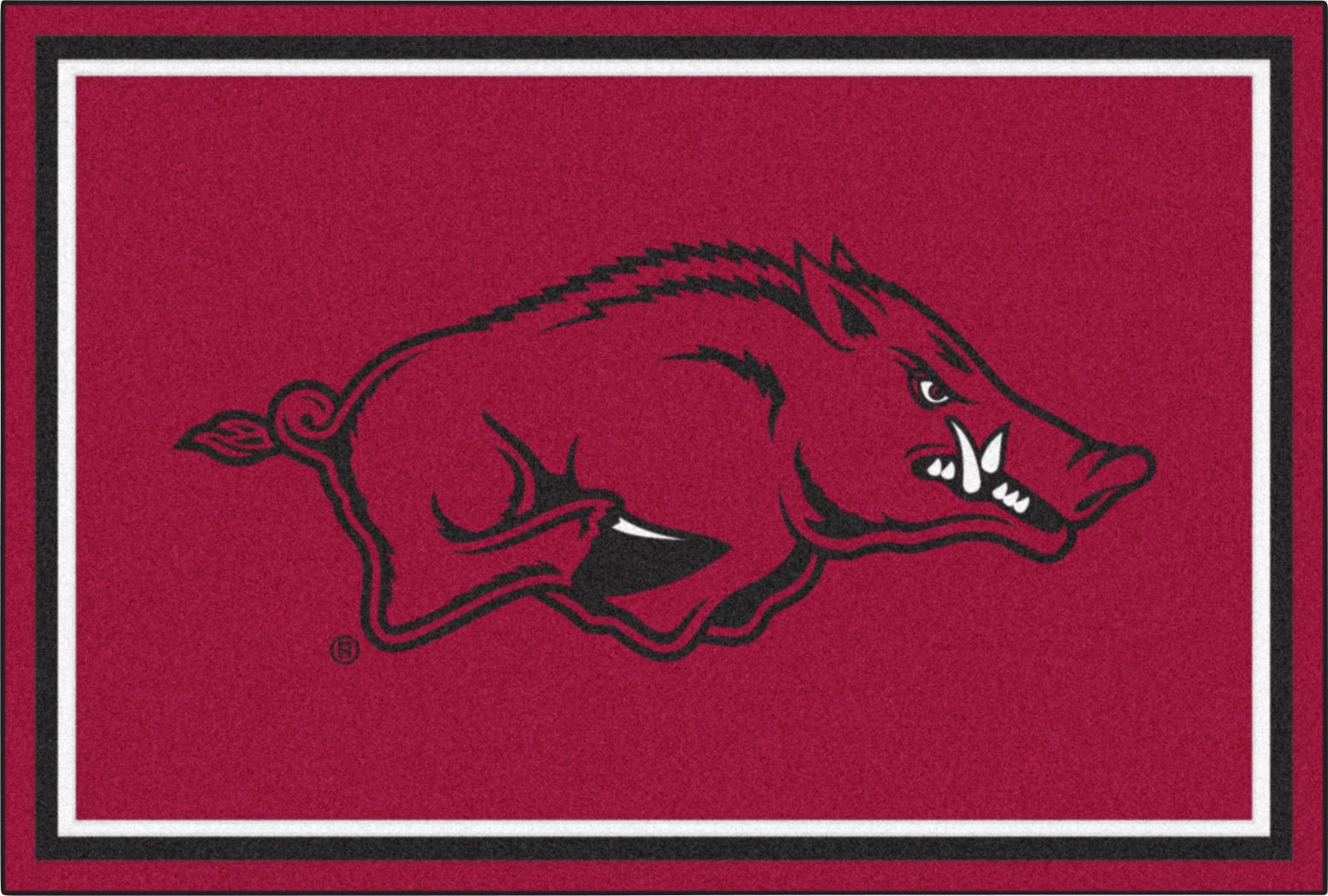 NCAA Big Game University of Arkansas 5' x 8' Rug