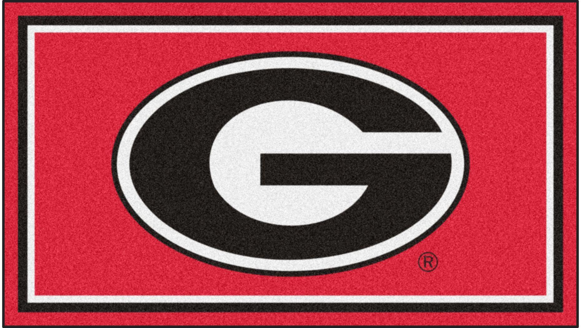 NCAA Big Game University of Georgia 3' x 5' Rug