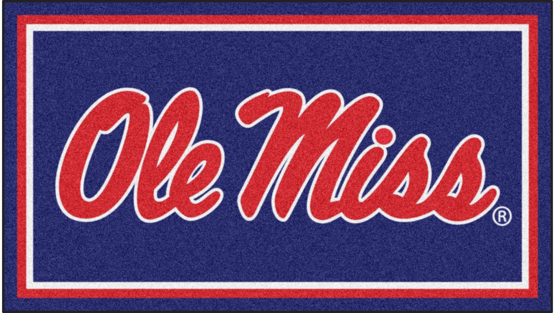 NCAA Big Game University of Mississippi 3' x 5' Rug