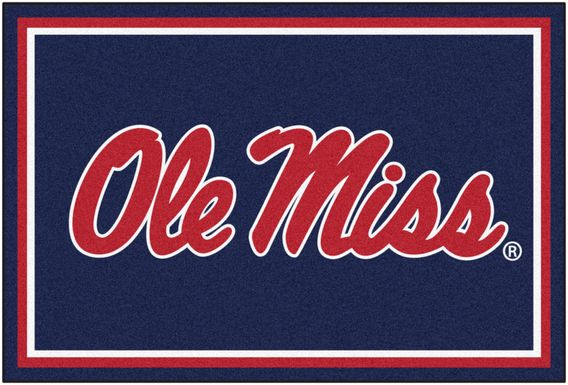 NCAA Big Game University of Mississippi 5' x 8' Rug
