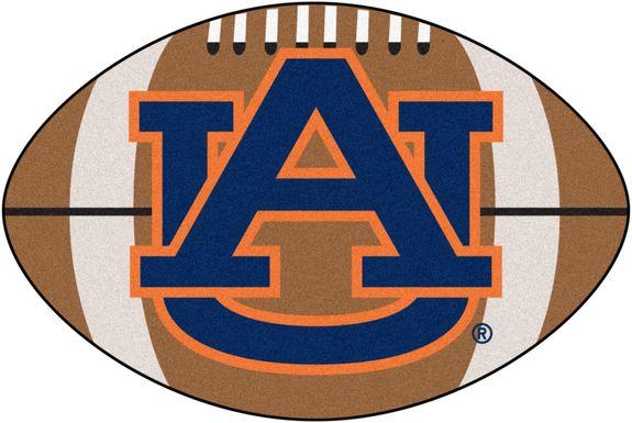 "NCAA Football Mascot Auburn University 1'6"" x 1'10"" Rug"