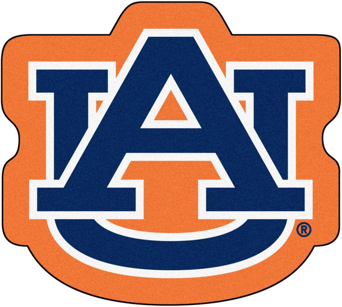 "NCAA Football Mascot Auburn University 1'6"" x 2' Rug"