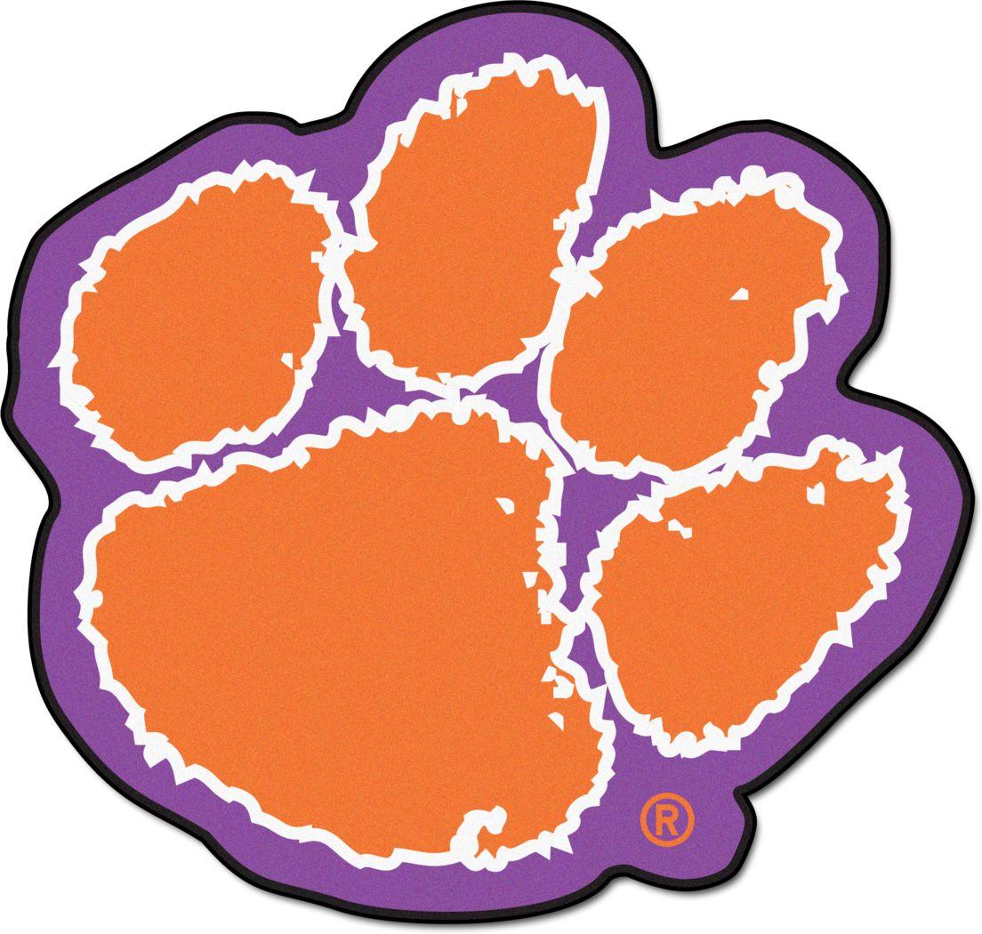 "NCAA Football Mascot Clemson University 1'6"" x 2"" Rug"