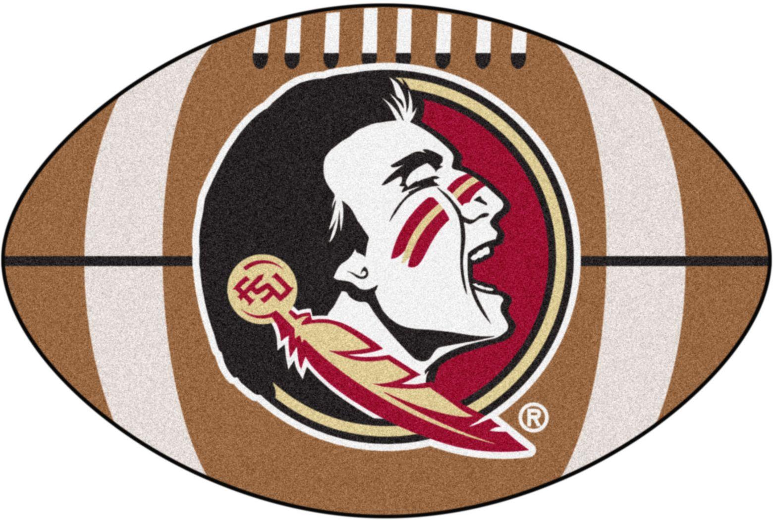 "NCAA Football Mascot Florida State University 1'6"" x 1'10"" Rug"