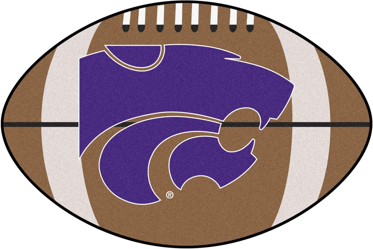"NCAA Football Mascot Kansas State University 1'6"" x 1'10"" Rug"
