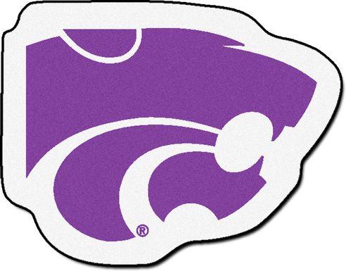 "NCAA Football Mascot Kansas State University 1'6"" x 2"" Rug"