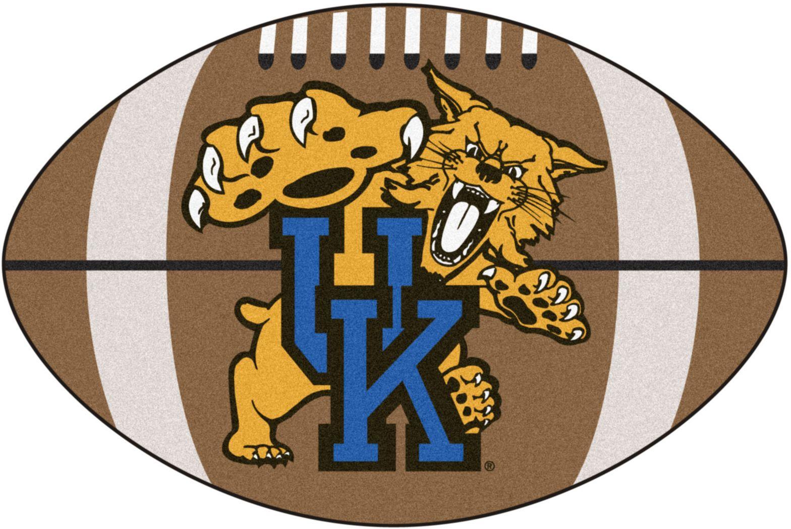 "NCAA Football Mascot Kentucky University 1'6""x 1'10"" Rug"