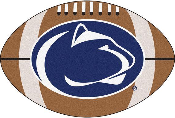"NCAA Football Mascot Penn State 1'6"" x 1'10"" Rug"