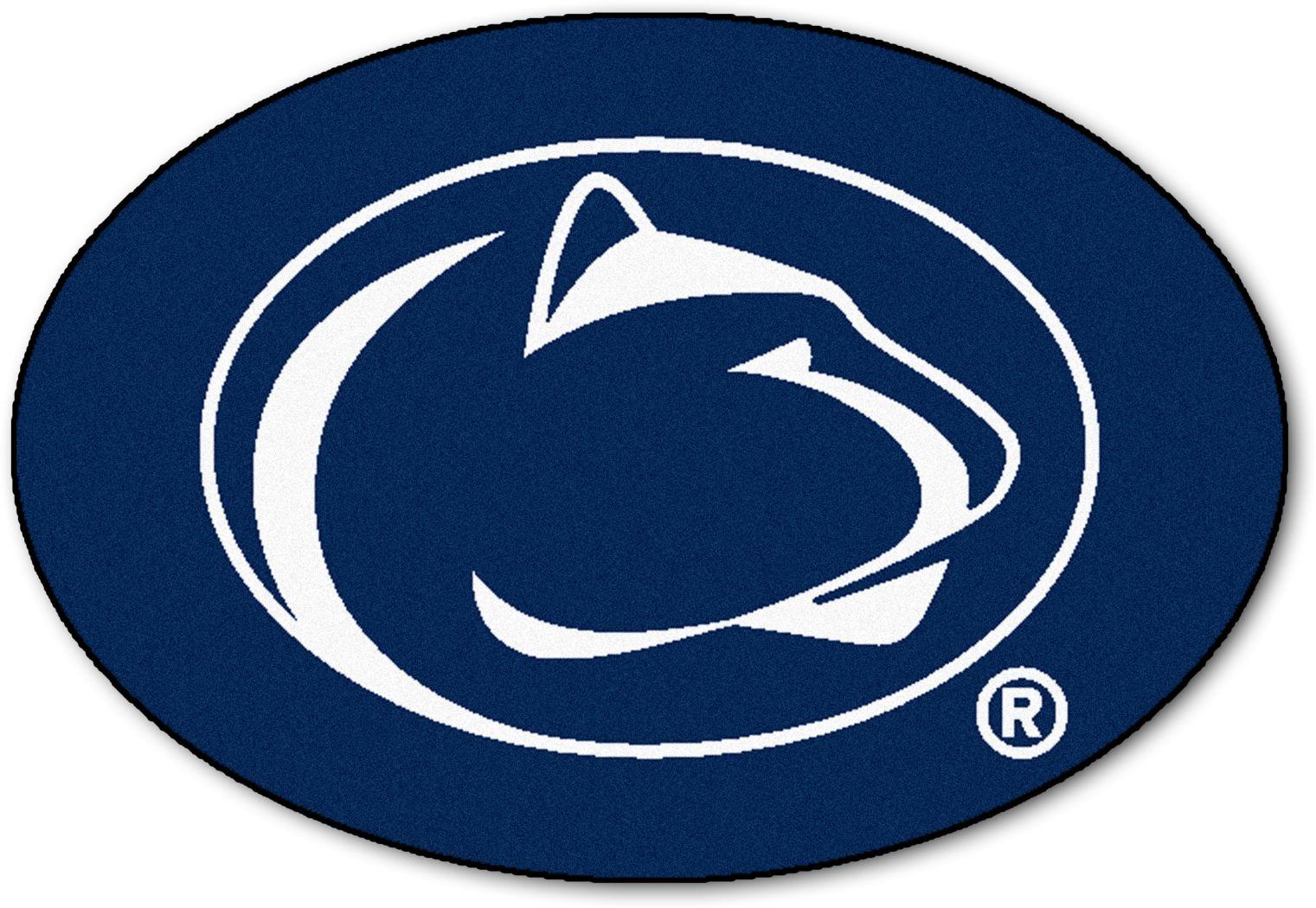 "NCAA Football Mascot Penn State University 1'6"" x 2' Rug"