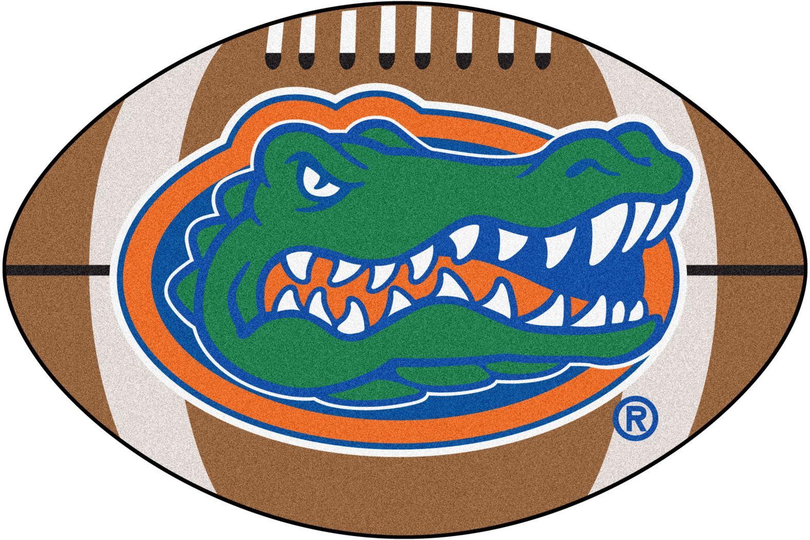 "NCAA Football Mascot University of Florida 1'6"" x 1'10"" Rug"