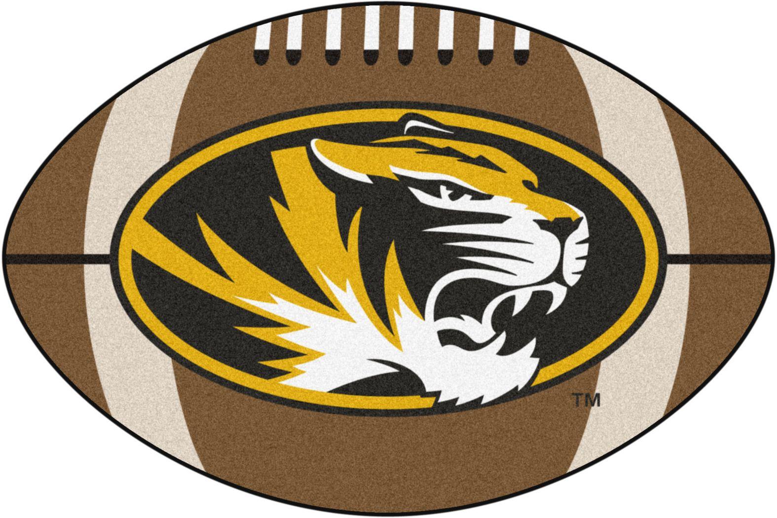 "NCAA Football Mascot University of Missouri 1'6"" x 1'10"" Rug"
