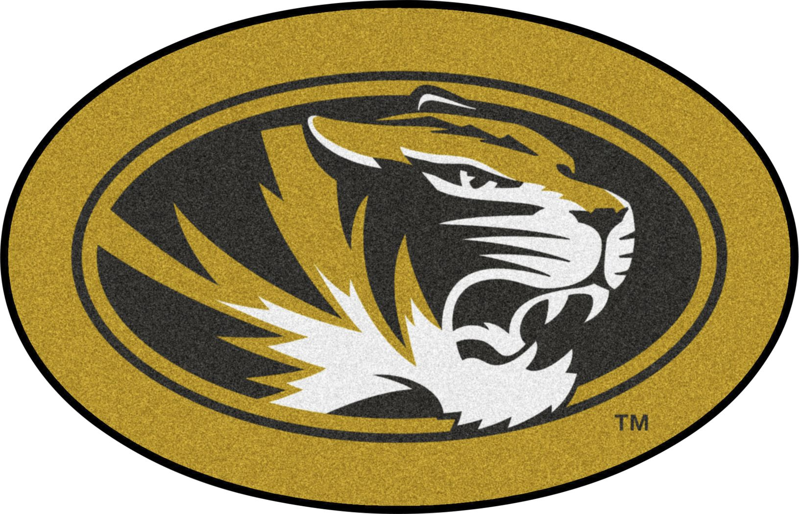 "NCAA Football Mascot University of Missouri 1'6"" x 2' Rug"