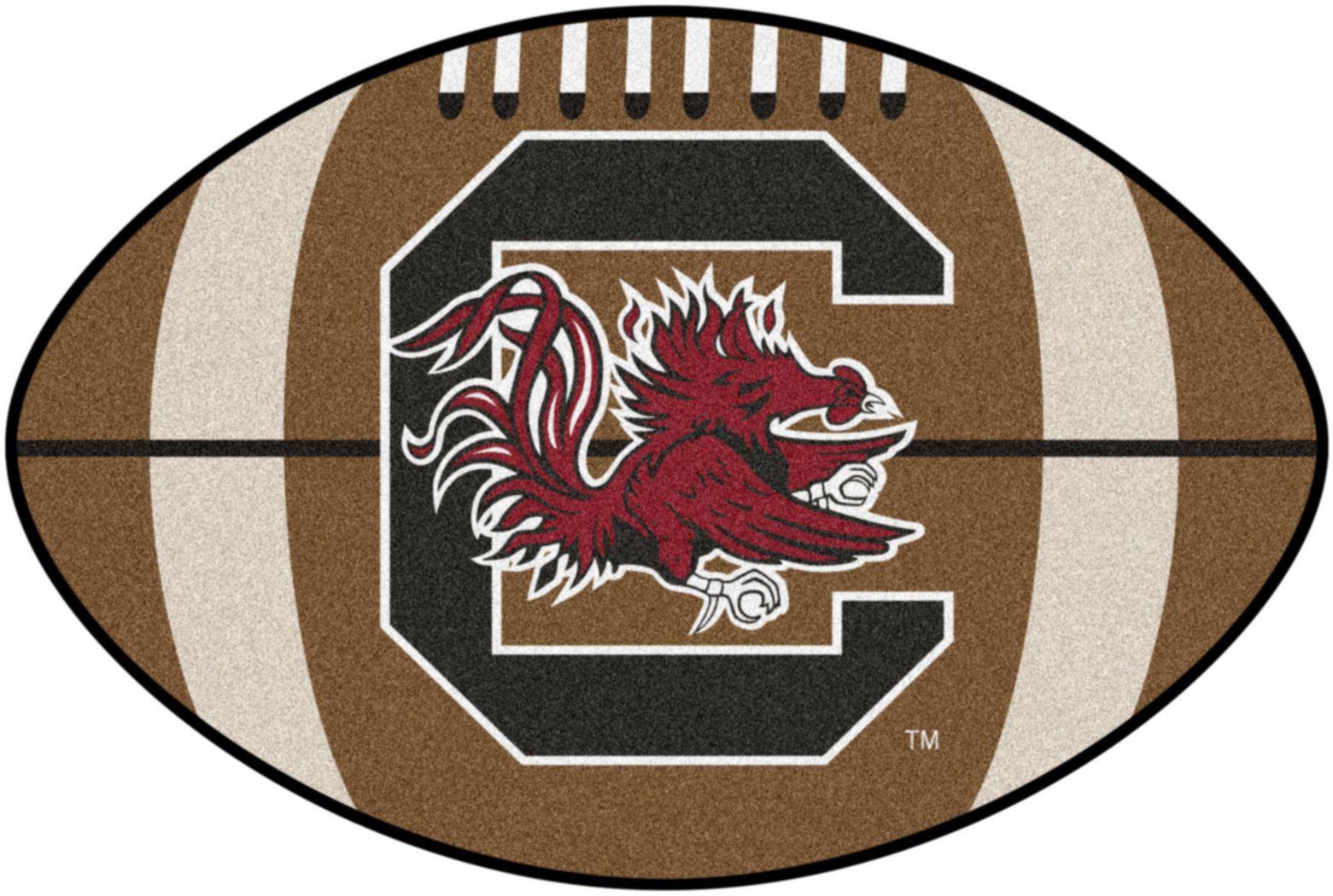"NCAA Football Mascot University of South Carolina 1'6"" x 1'10"" Rug"