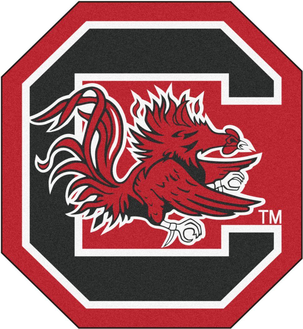 "NCAA Football Mascot University of South Carolina 1'6 x 2"" Rug"