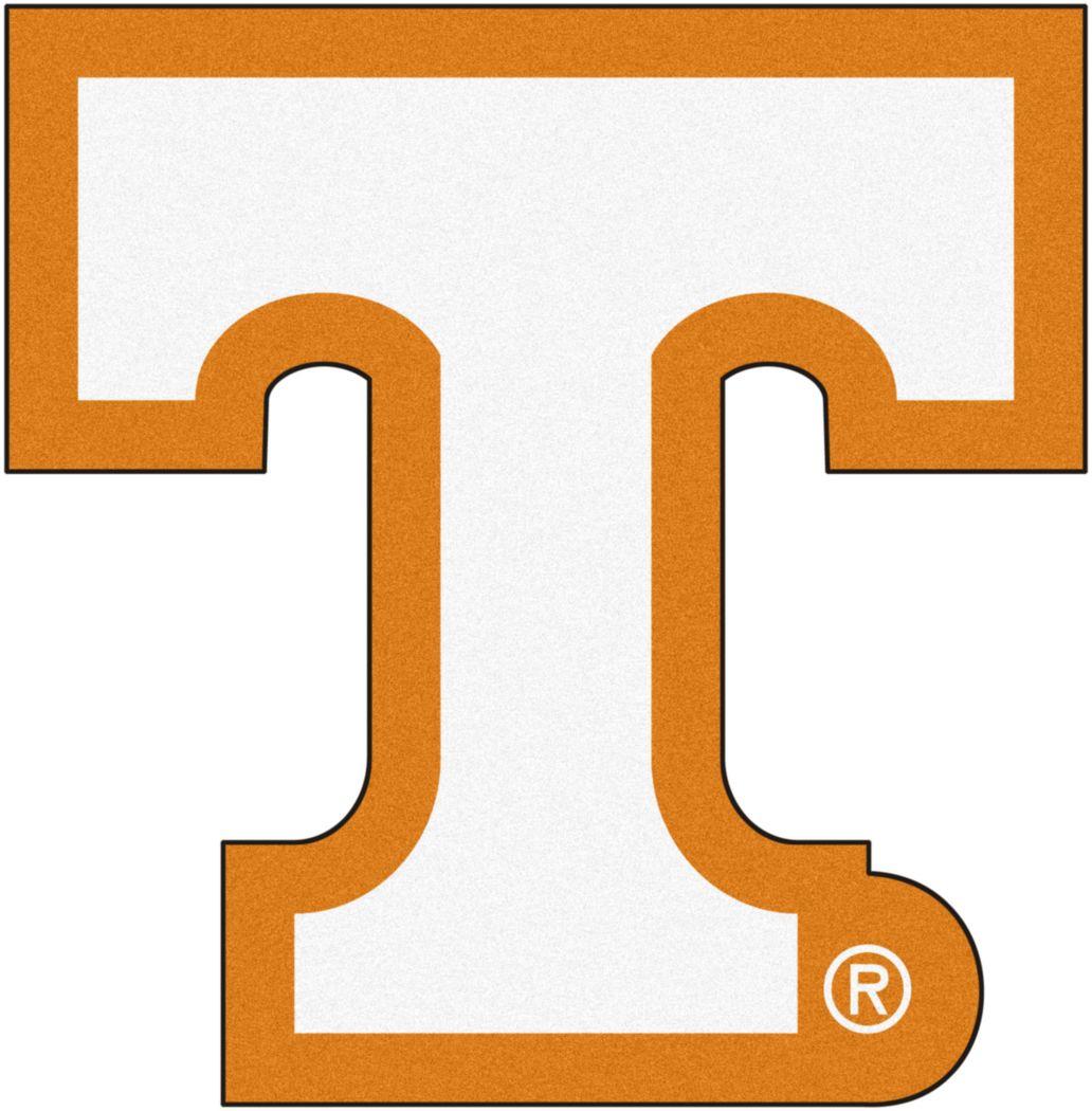 "NCAA Football Mascot University of Tennessee 1'6"" x 2"" Rug"