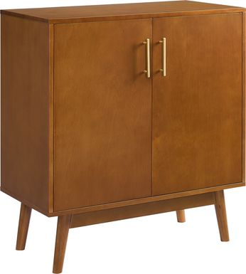 Nedwald Brown Accent Cabinet