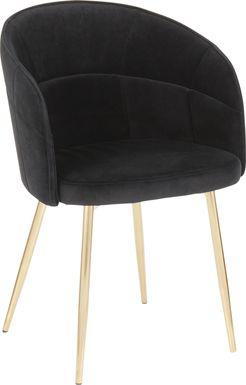 Neilson Black Accent Chair