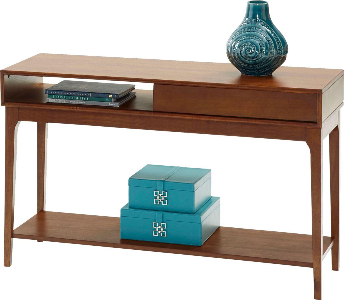 Nelwood Brown Sofa Table