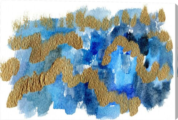 Neptune's Winds Blue Artwork