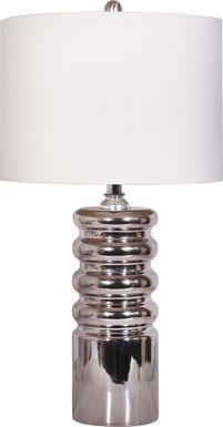 Nerine Silver Lamp