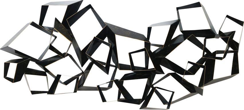 Nestor Black Sculpture