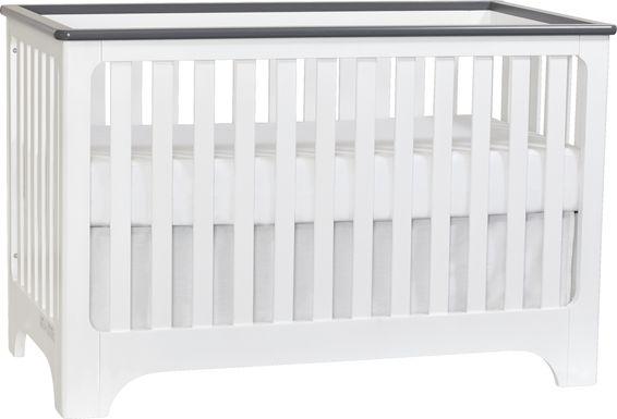 Neville White Crib