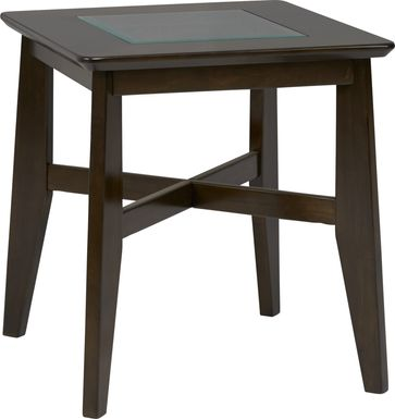 New London Espresso End Table