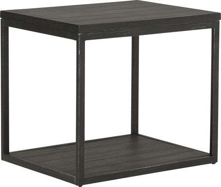 Newkirk Gray End Table