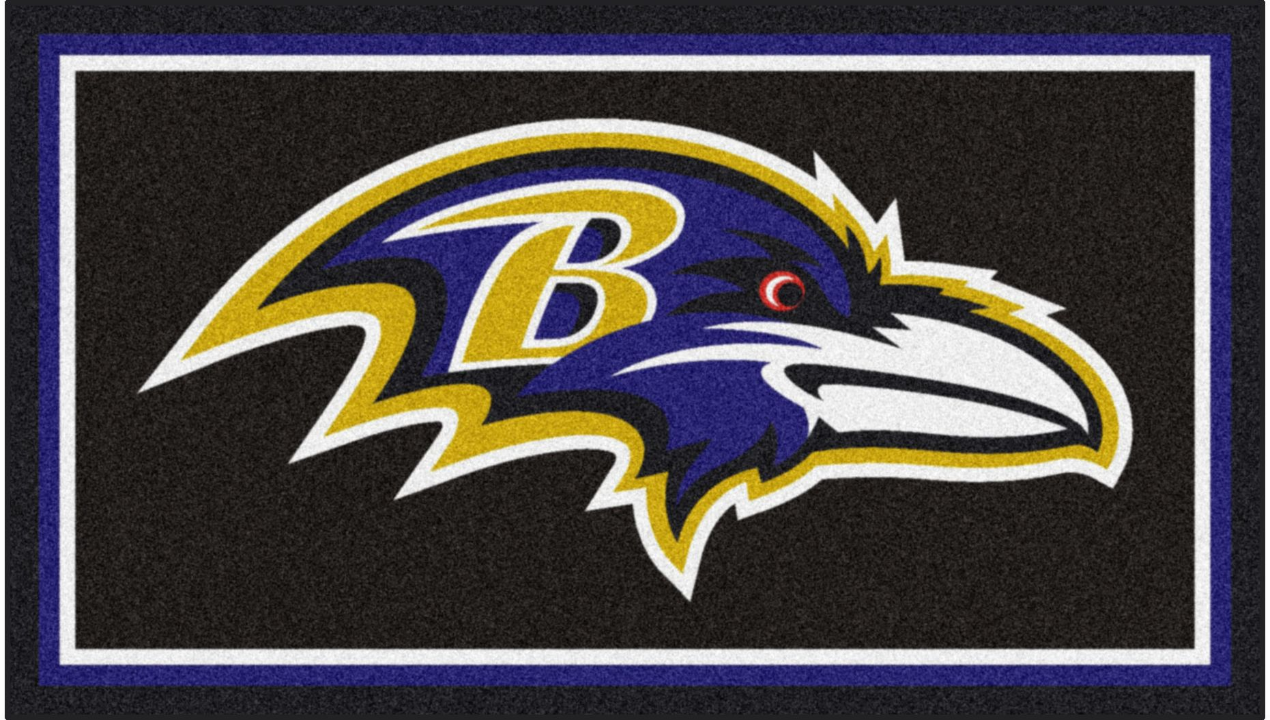 NFL Big Game Baltimore Ravens 3' x 5' Rug