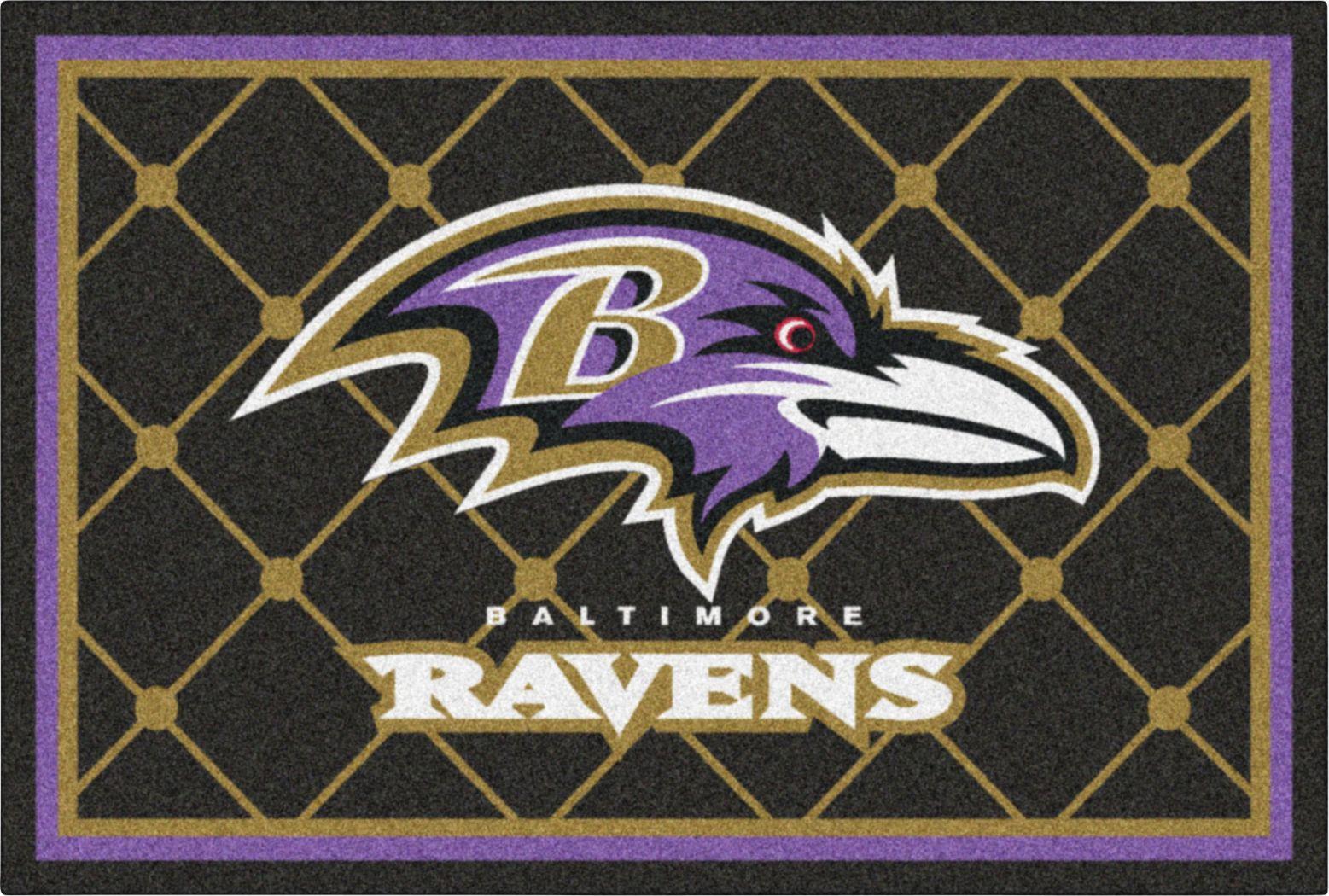 NFL Big Game Baltimore Ravens 5' x 8' Rug