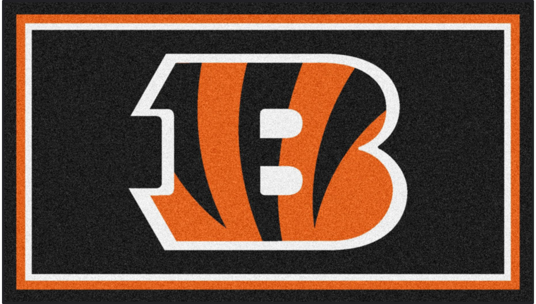 NFL Big Game Cincinnati Bengals 3' x 5' Rug