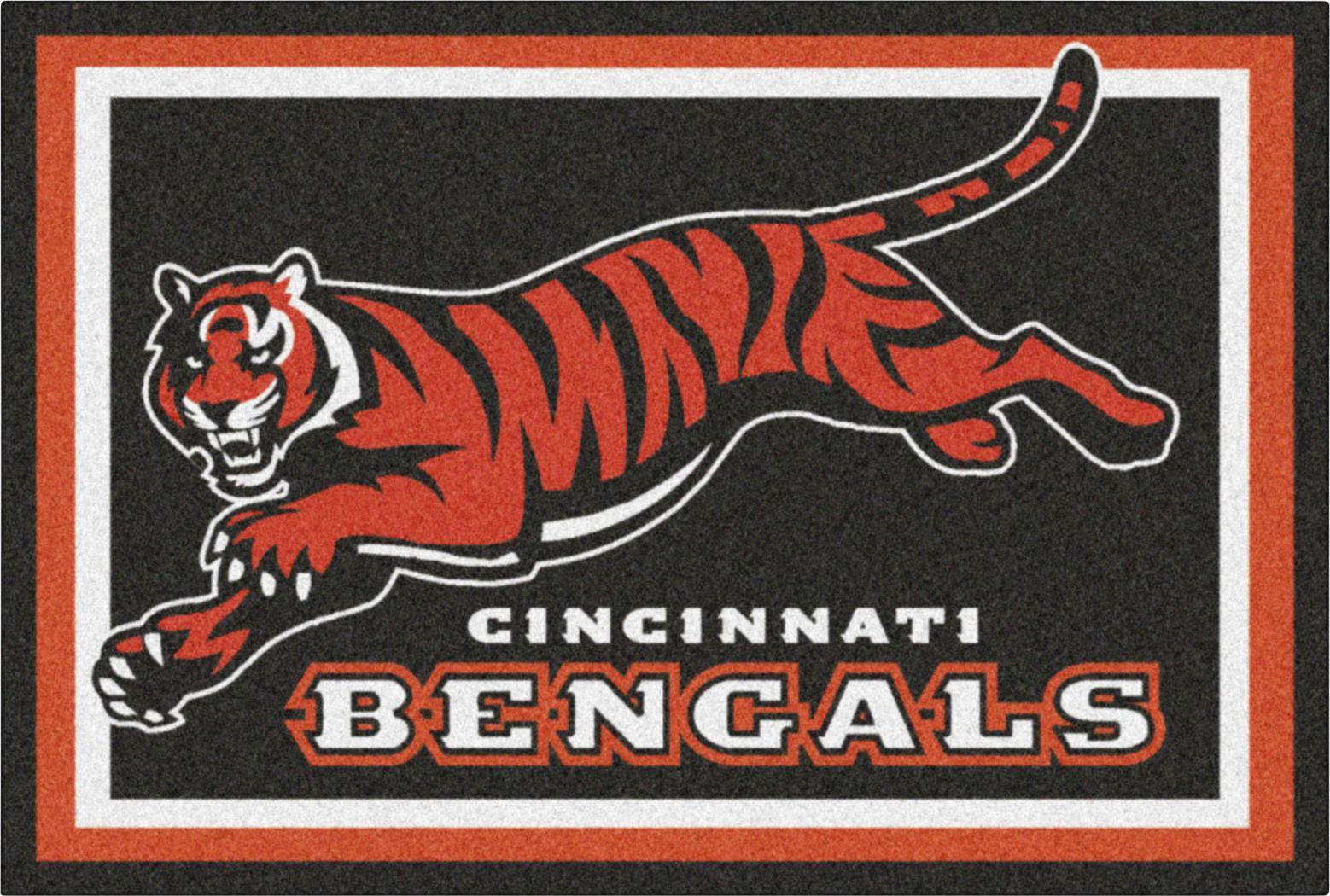NFL Big Game Cincinnati Bengals 5' x 8' Rug