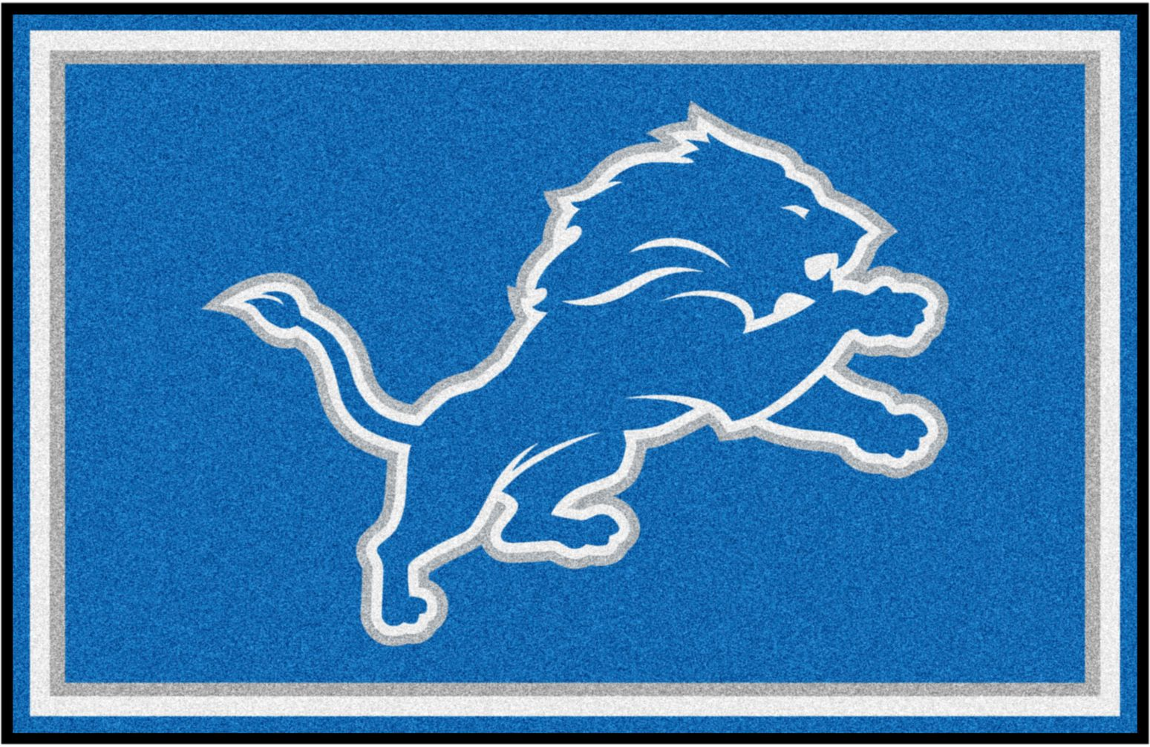 NFL Big Game Detroit Lions 5' x 8' Rug